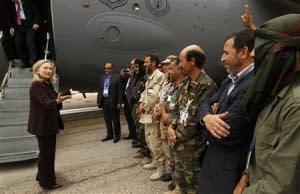 Clinton in Libya